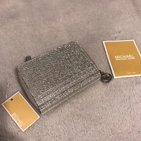66d7d622 MICHAEL Michael Kors Bags | Brand New Michael Kors Hard Coin Card ...